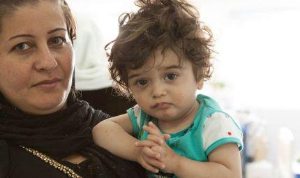 I bambini kurdi tornano a sorridere