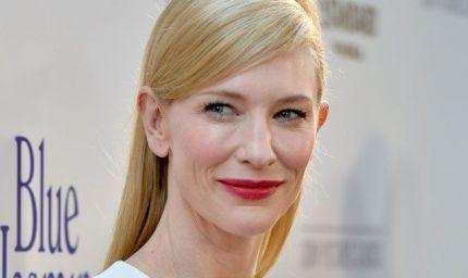 Cate Blanchett supermamma