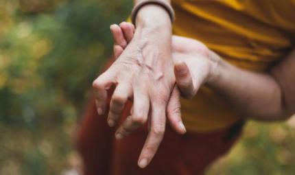 Un problema che limita i movimenti: il dito a scatto