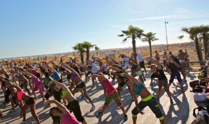 Il paradiso del fitness a Bibione dall'11 al 13 settembre