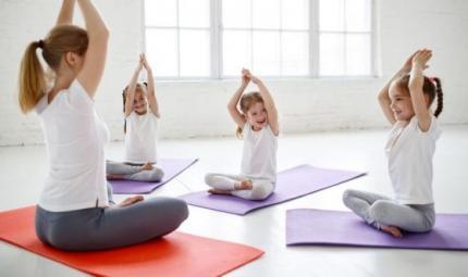 Namasté, il gioco yoga per bambini