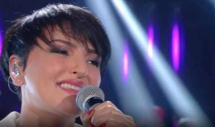 Il make up di Arisa a Sanremo