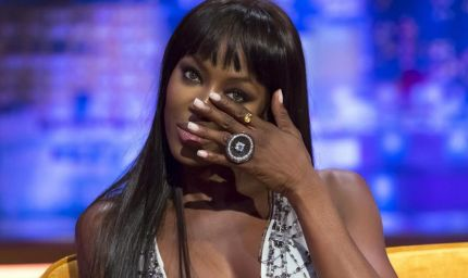 La manicure effetto nudo di Naomi Campbell