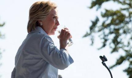Polmonite per la Clinton