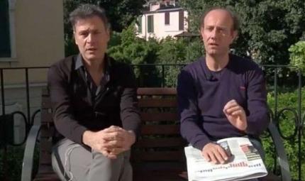 Ale e Franz: «La polmonite non fa ridere»