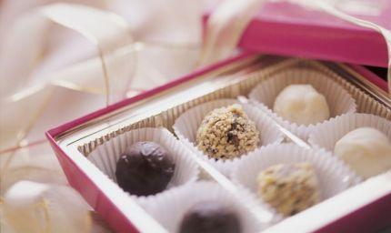 Praline di cioccolato? Si grazie!