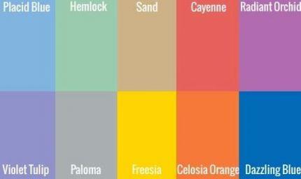 Primavera 2014: ecco i colori Pantone must-have