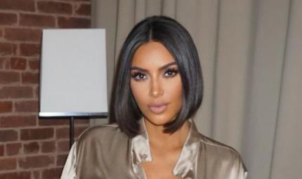Per Kim Kardashian fiocco azzurro selezionato?