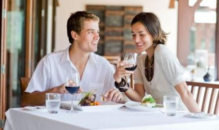 Come si mangia? Dipende anche dal posto al ristorante!