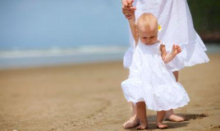 La spiaggia ideale per i bimbi