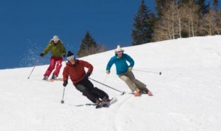 A tavola prima di sciare