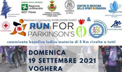 A Voghera si corre la Run for Parkinson's