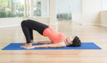 Uno yoga non competitivo