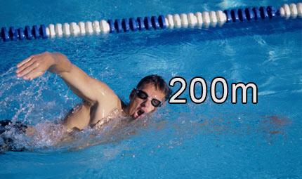 Nuoto - 200 m stile