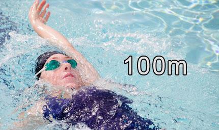 Nuoto - 100 m dorso