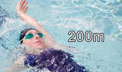 Nuoto - 200 m dorso