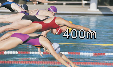 Nuoto - 400 m misti