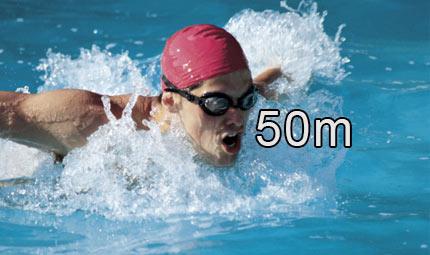 Nuoto - 50 m farfalla