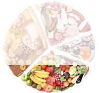 Dieta per 1100 Kcal