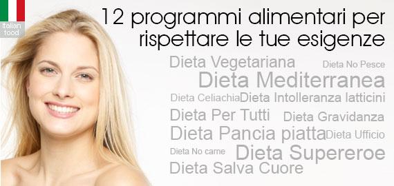 Dieta online 12 programmi