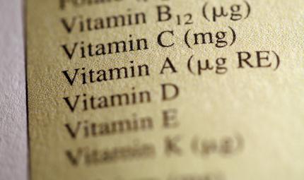 A tutto vitamine
