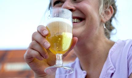 Alcol durante l'allattamento? No, grazie