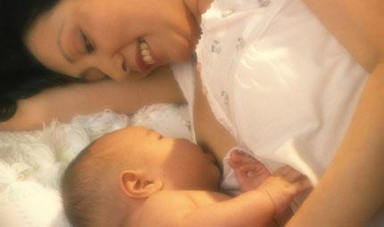 Un bel seno dopo l'allattamento