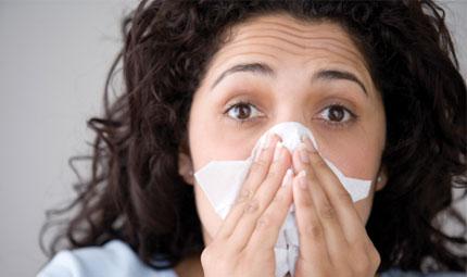 Via le allergie lavandosi il naso