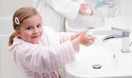 Batterio killer: zero rischi per i bimbi