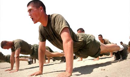Bootcamp: l'allenamento si fa duro