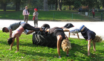 Più forti e scattanti con il Caveman training
