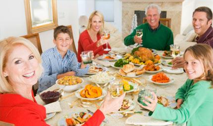 Feste e cibo: mangiare con giudizio!