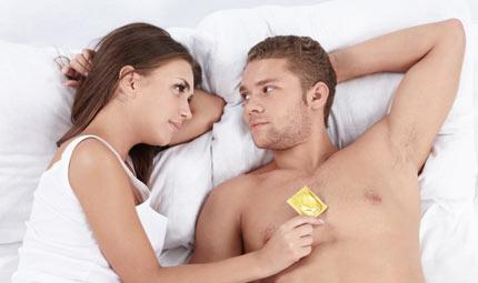 Il condom non toglie il piacere