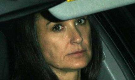 Demi Moore: esaurita dal divorzio?