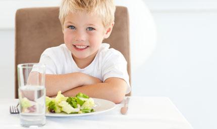 Bimbi: a dieta in tempo di crisi