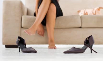 Scarpe e rischio fascite plantare