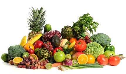 Rilassarsi con frutta e verdura!