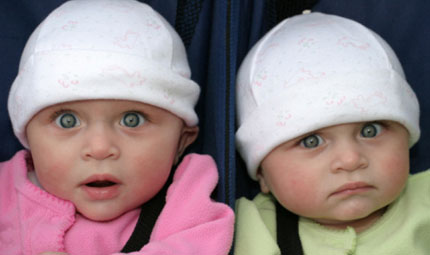 Due bebè in arrivo