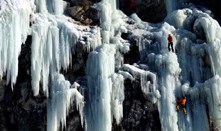 Valle d'Aosta: il regno del ghiaccio