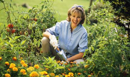 Obiettivi puntati sul giardinaggio