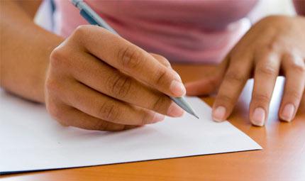 La scrittura, specchio della personalità