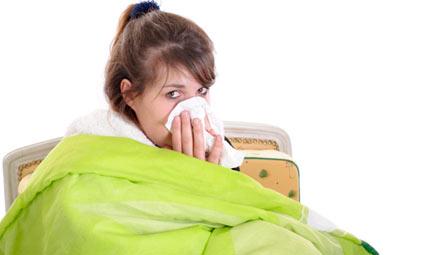 No a raffreddore e influenza con l'omeopatia