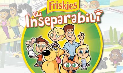 Inseparabili Friskies: il tour degli animali da compagnia