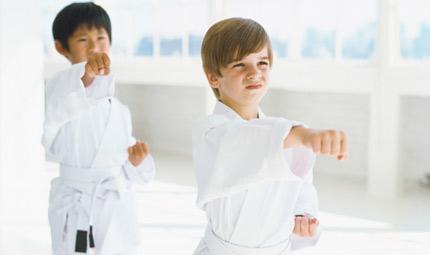 Bambini: l'aiuto delle arti marziali