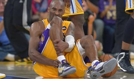 Lesione al tendine d'Achille per Kobe Bryant