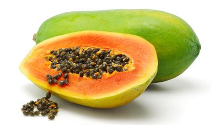 Prevenire l'influenza con l'estratto di papaya