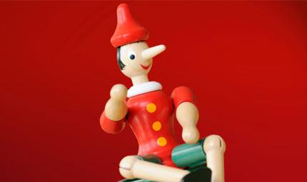 Bambini, occhio a Pinocchio!