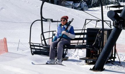 Neve: proteggere spalle e ginocchia