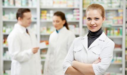 Misura il respiro in farmacia
