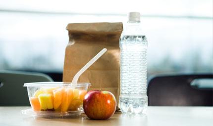 Il sacchetto del pranzo e dello spuntino